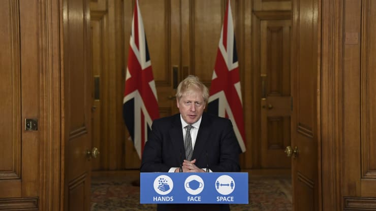 Boris Johnson Unveils Four Stage Roadmap To Ease Lockdown
